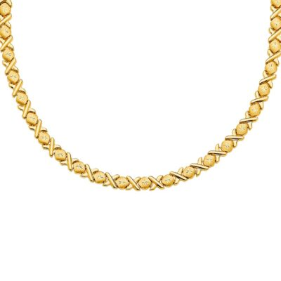 14KY Stampato Necklace