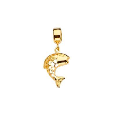 14KY Fish Charm for Mix&Match Bracelet