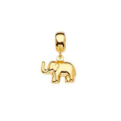 14KY Elephant Charm for Mix&Match Bracelet