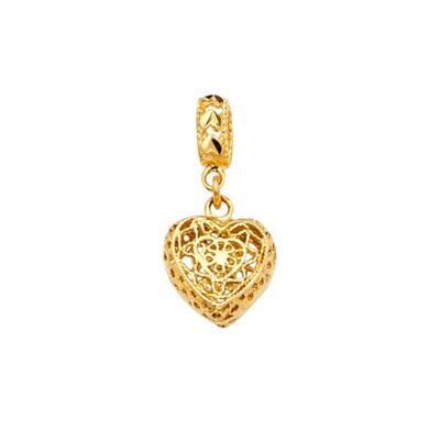 14KY Heart Charm for Mix&Match Bracelet