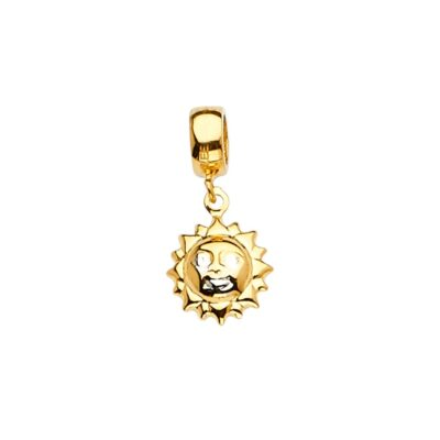 14KY Sun Charm for Mix&Match Bracelet