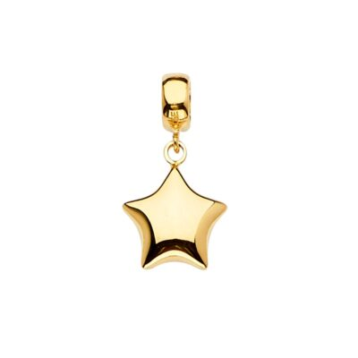 14KY Star Charm for Mix&Match Bracelet