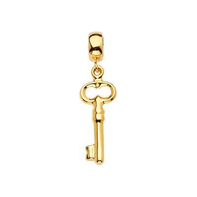 14KY Key Charm for Mix&Match Bracelet