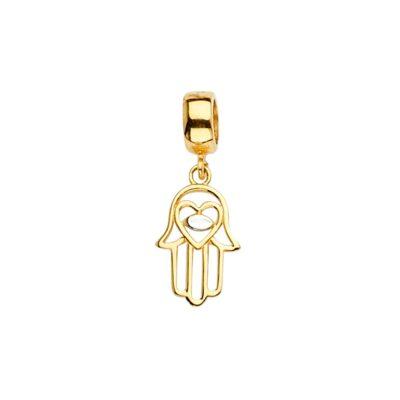 14KY Hamsa Charm for Mix&Match Bracelet