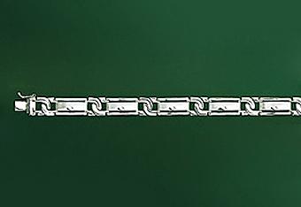 """10Kt 8"""" Italian Mens Bracelet"""