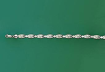 10Kt Ladies Italian Style Bracelet
