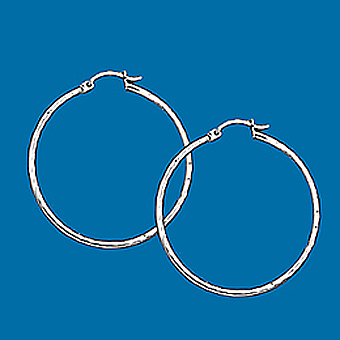 10Kt Hoop Earrings