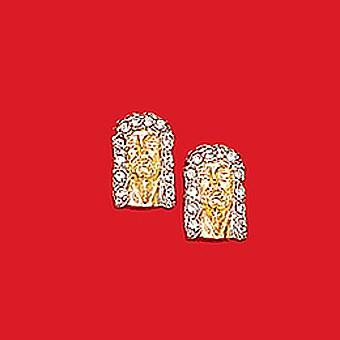 10Kt Religious Earrings