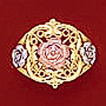 10Kt Ladies Multicolor Ring
