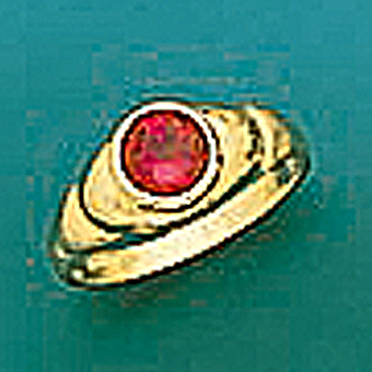 10Kt Yellow Gold Baby Ring with CZ