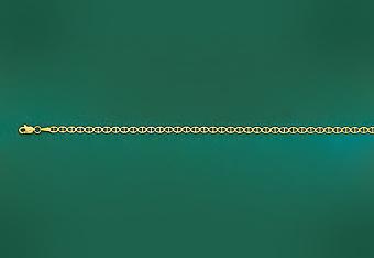 3mm Gucci Mens Chain