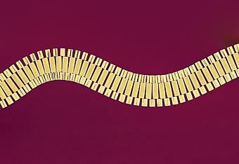 24.0 mm Highpolish Rolex Design Mens Necklace