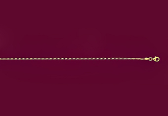 050 14K Yellow Gold Cable Mens Chain