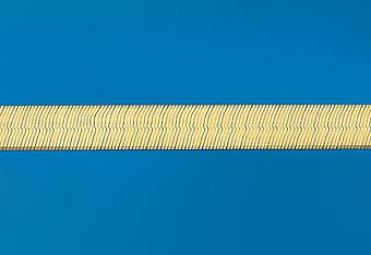 22.0 mm Herring Bone Necklace