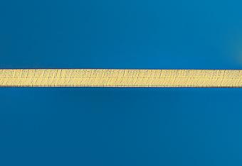 15.0 mm Herring Bone Necklace