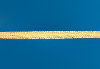 14.0 mm Herring Bone Necklace