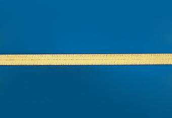 12.0 mm Herring Bone Necklace