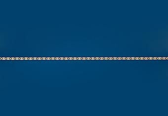 2.5 mm 14K Yellow Gold Valentino Chain
