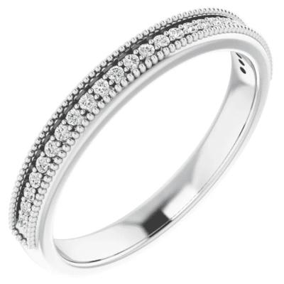 0.62 ctw. Channel Set Anniversary Band with Round Stones