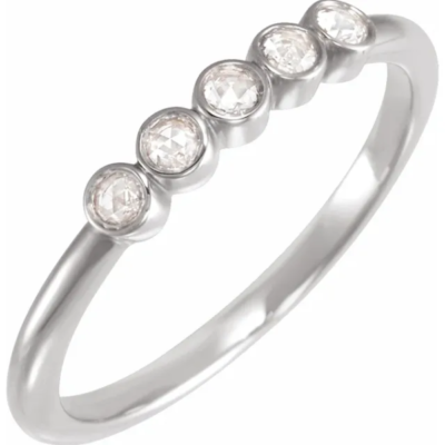 0.17 ctw. Round Cut Diamond Anniversary Band in the Precious Metal of Your Choice!