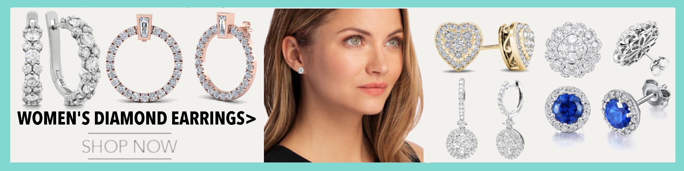 Woment Diamond Earring